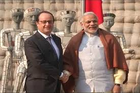 modi french hollande