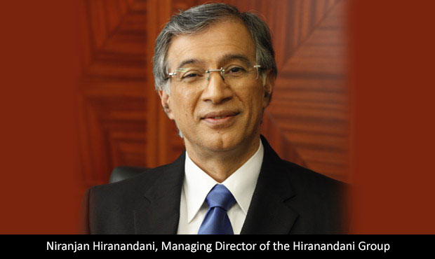Niranjan Hiranandani, Managing Director of the Hiranandani Group