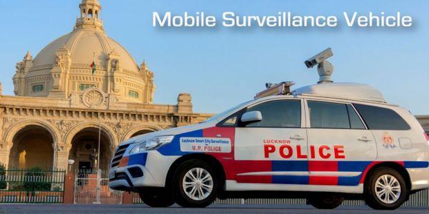 Mobile Surveillance Vehicle